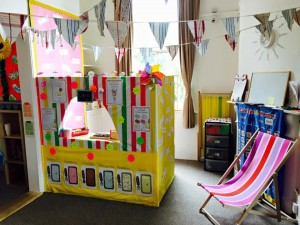 ice cream parlour preschool