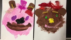 BEAR HUNT SELF PORTRAITS